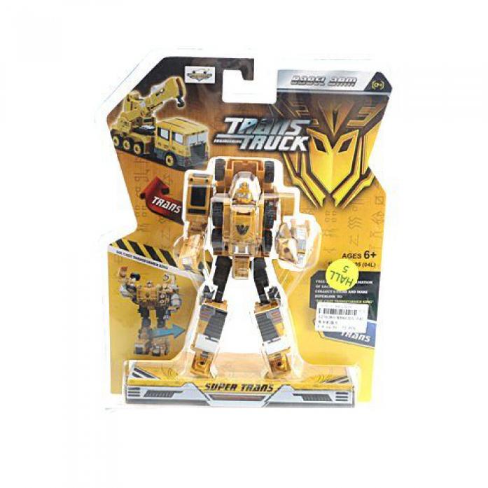Трансформер Shantou Gepai Робот-Строительная техника KY80305-04L