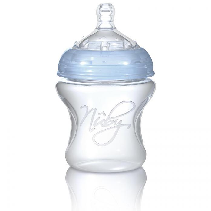 Бутылочка Nuby NT67013SU голубая