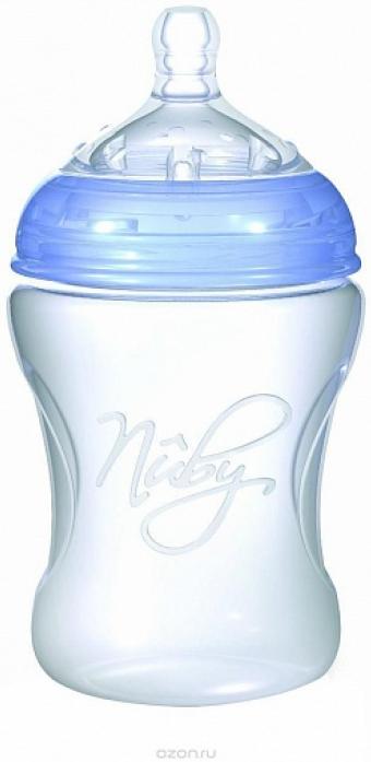 Бутылочка Nuby NT67014 голубая