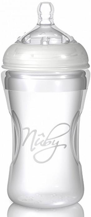 Бутылочка Nuby NT67018 белая