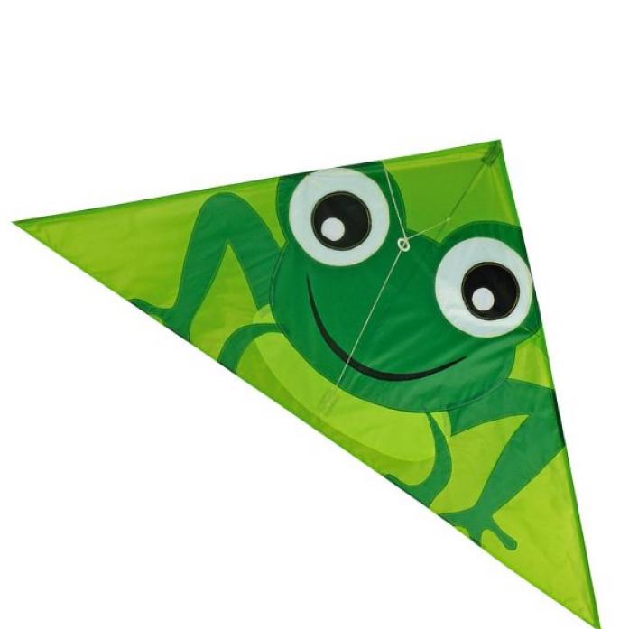 Воздушный змей X-Match Лягушонок 130х65 см 681314