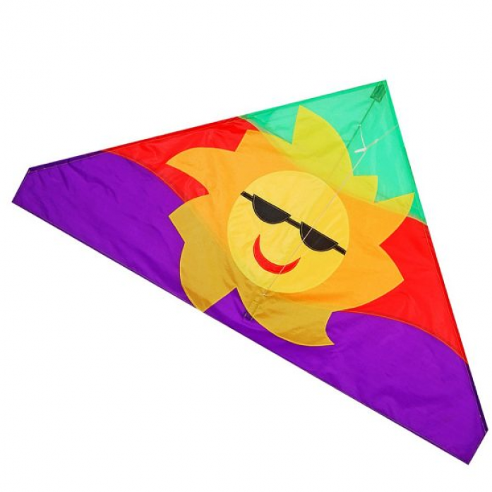 Воздушный змей X-Match Солнце 133х74 см 681322