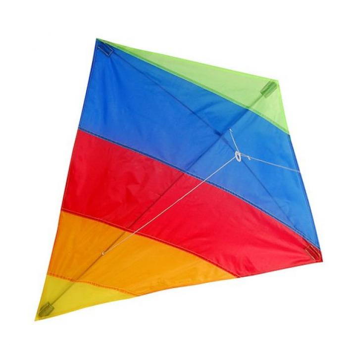 Воздушный змей X-Match Цветной 82х88 см 681316