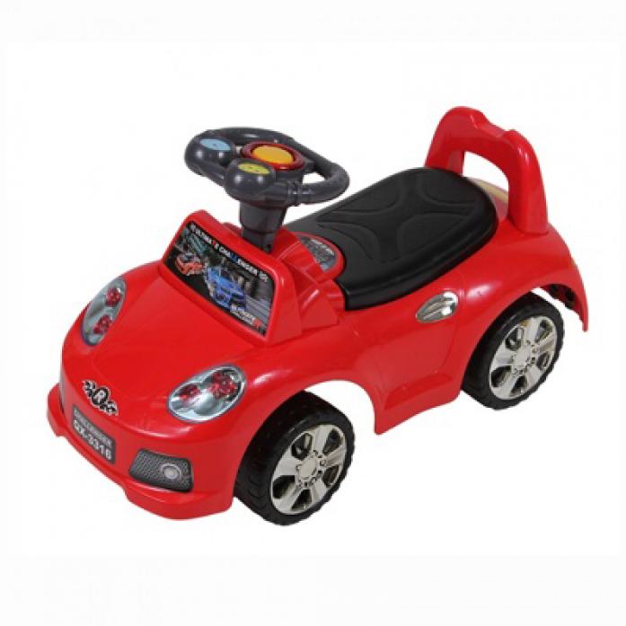 Каталка Toysmax SPORT CAR-2 красная 3316