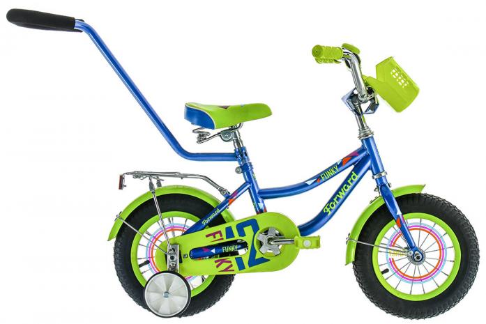 Велосипед детский Forward FUNKY 12 BOY синий