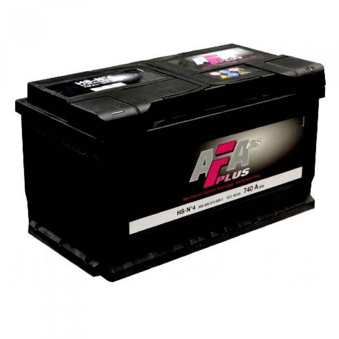 Аккумулятор AFA PLUS 80 А/ч обратная R+ HS-N4