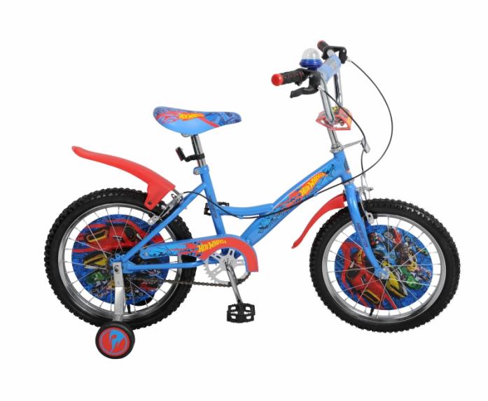 Велосипед Navigator 18 Hot Wheels KITE-тип сине/красный