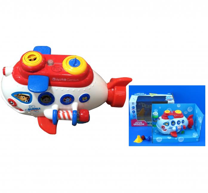 Машина для пускания мыльных пузырей 1toy Подводная лодка Т59648