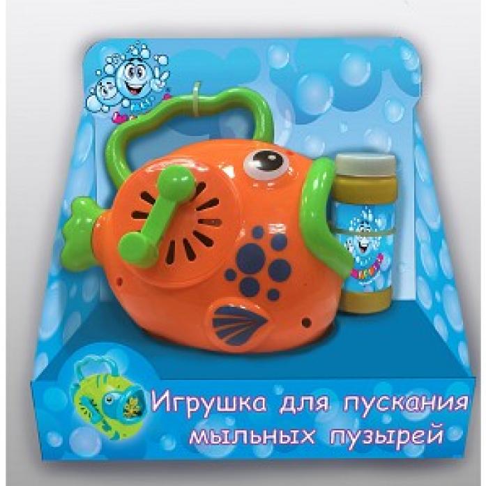 Машина для пускания мыльных пузырей 1toy Рыба Т59647