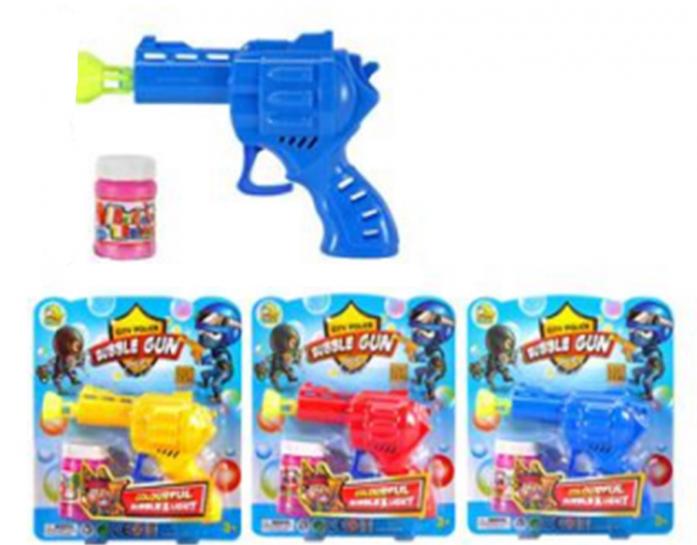 Пистолет для пускания мыльных пузырей 1toy Мы-шарики! Т59646