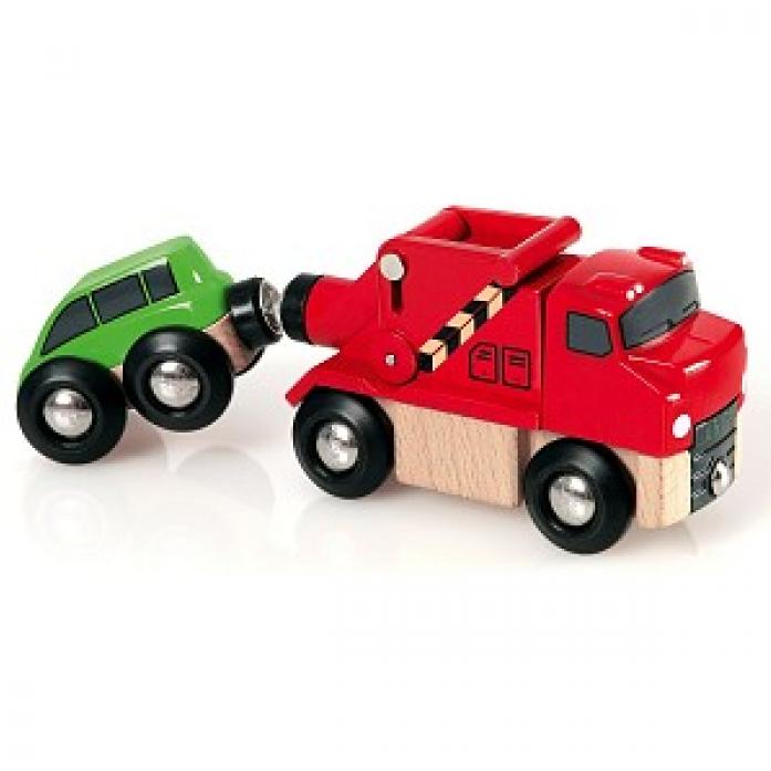 Машинка-буксир Brio 33528
