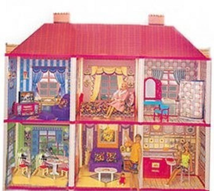 Дом S+S Toys EJ80177R для куклы Уютная квартирка