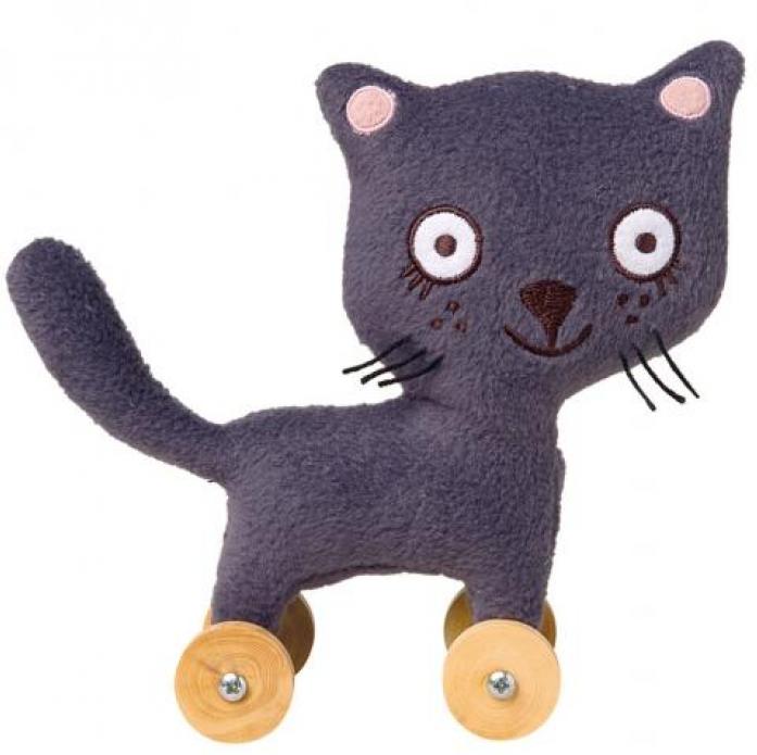Мягкая игрушка TROUSSELIER Кошка на колесиках