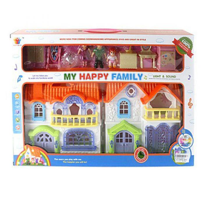 Игровой набор Shantou Gepai Дом кукольный с мебелью 8088