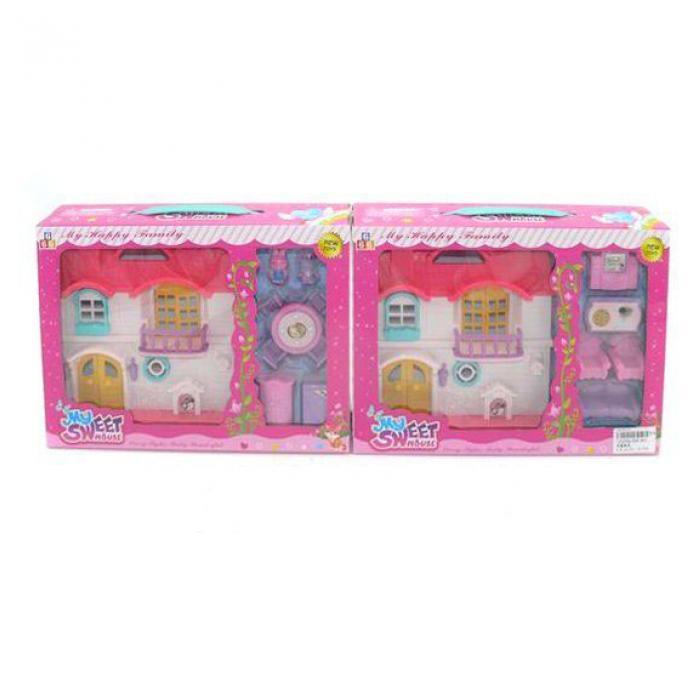 Игровой набор Shantou Gepai Дом для куклы с мебелью 666-963