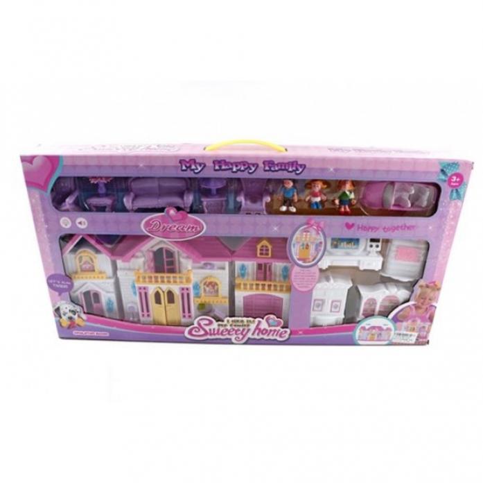 Игровой набор Shantou Gepai Дом - Моя счастливая семья WD-922E