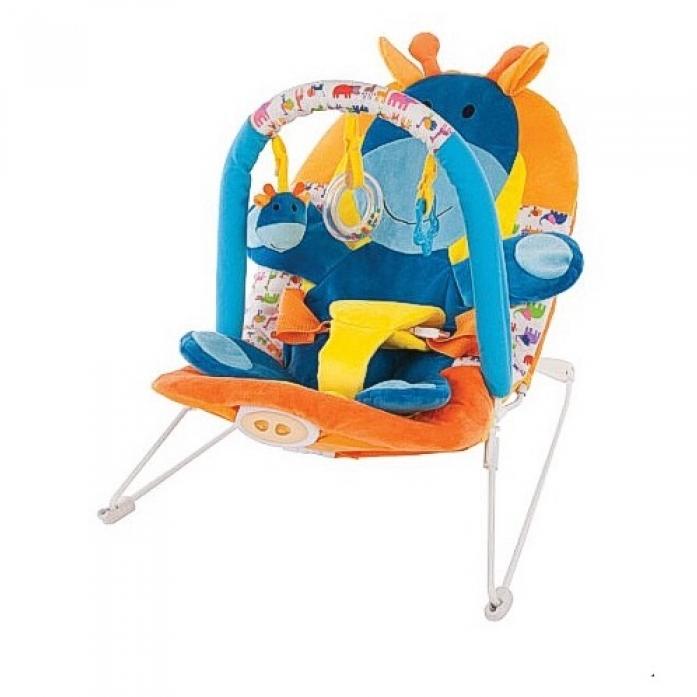 Кресло-качалка Жирафики с 3-мя развивающими игрушками 939432