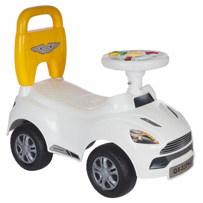 Каталка Toysmax ASTON белая 3379-3