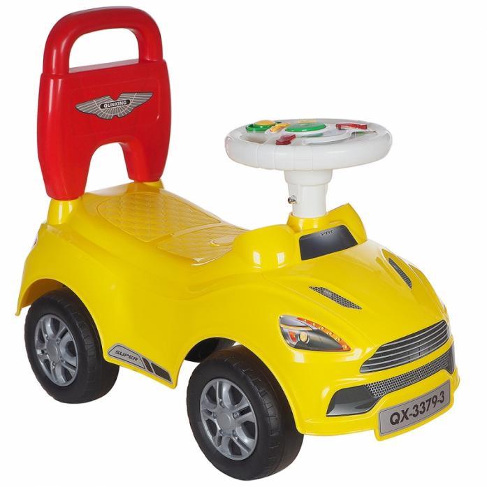 Каталка Toysmax ASTON желтая 3379-3