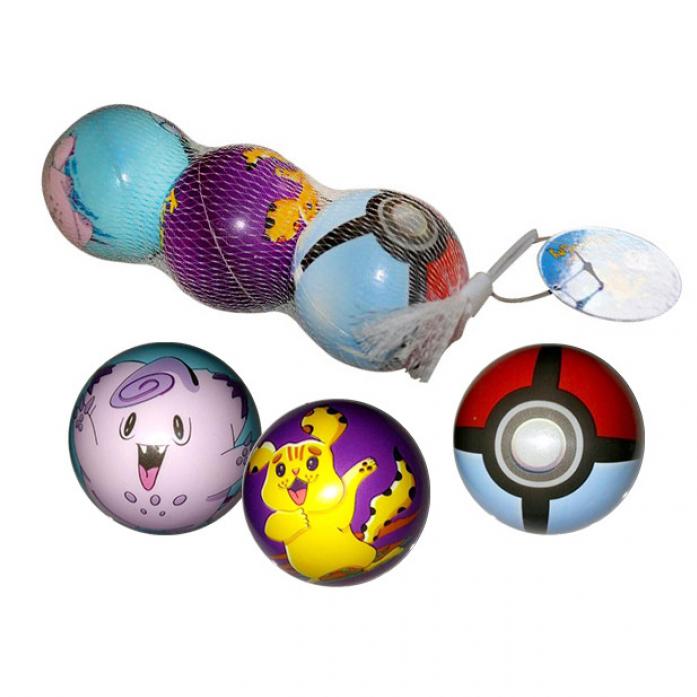 Набор из 3 мячиков 1toy Карманные монстры Т59855