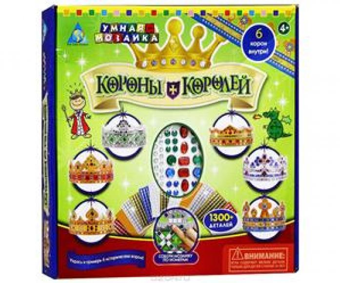 Мозаика Оригами Короны Королей 6 шт 81560