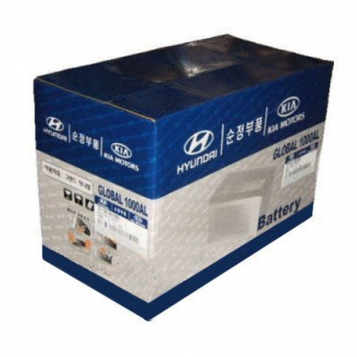 Аккумулятор Hyundai/Kia STANDART 60 А/ч обратная R+ 37110-2G600
