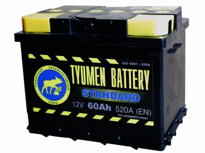 Аккумулятор TYUMEN BATTERY ASIA 60 А/ч прямая L+