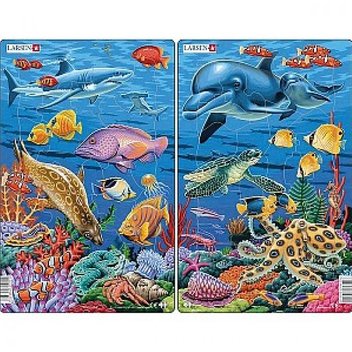 Пазл LARSEN Коралловый риф H23