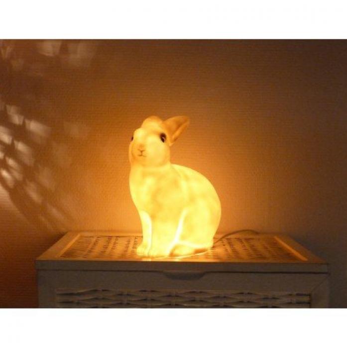 Ночник EGMONT Кролик розовый 360312PI