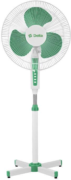 Вентилятор DELTA DL-020N бело-зеленый