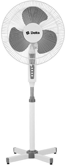 Вентилятор DELTA DL-020N бело-серый