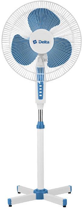 Вентилятор DELTA DL-020N бело-синий