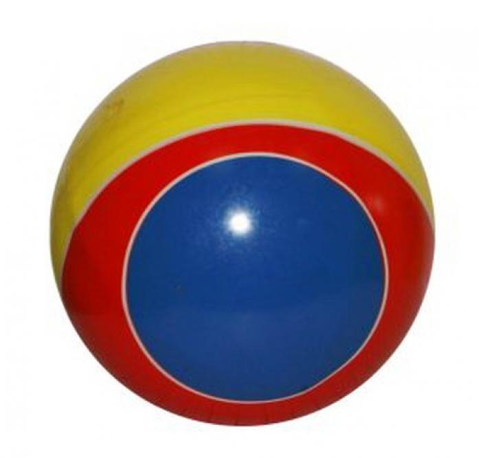 Мяч Мячи-Чебоксары с кругами (полоса) 125мм 44127/с-100ЛП