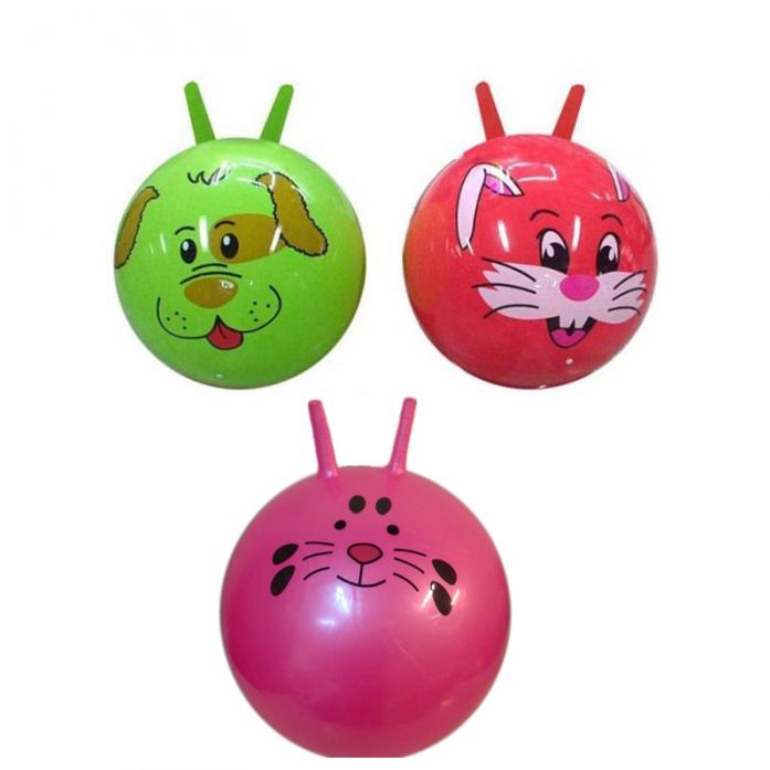 Мяч Shantou Gepai 60 см с двумя ручками 63704