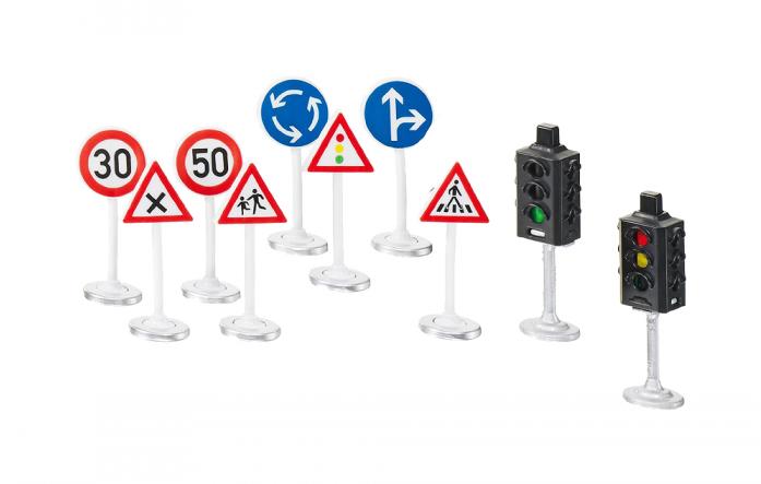 Набор SIKU Светофоры и дорожные знаки 5597