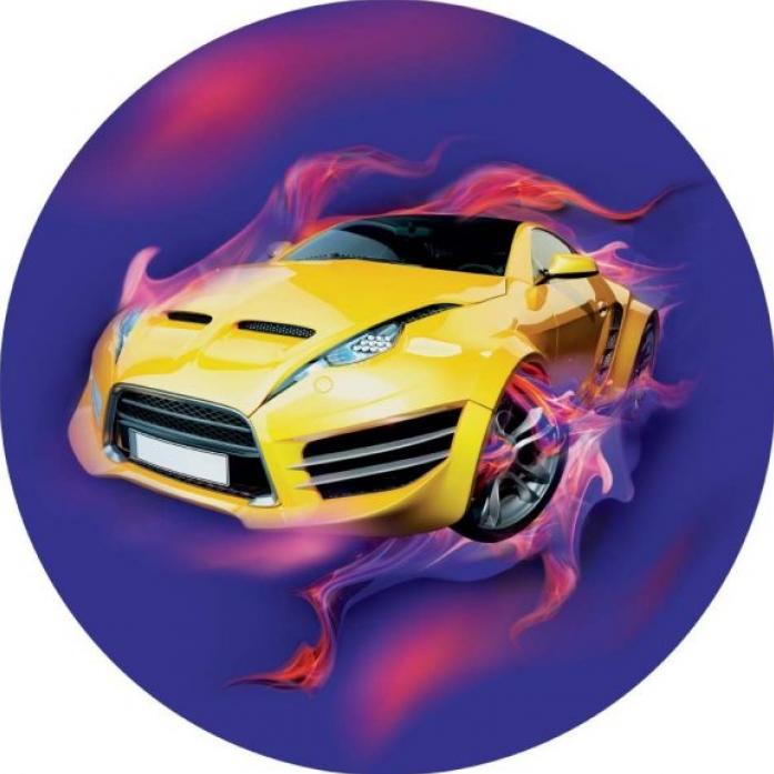 Мяч Dema-Stil Машинка 23 см 2600