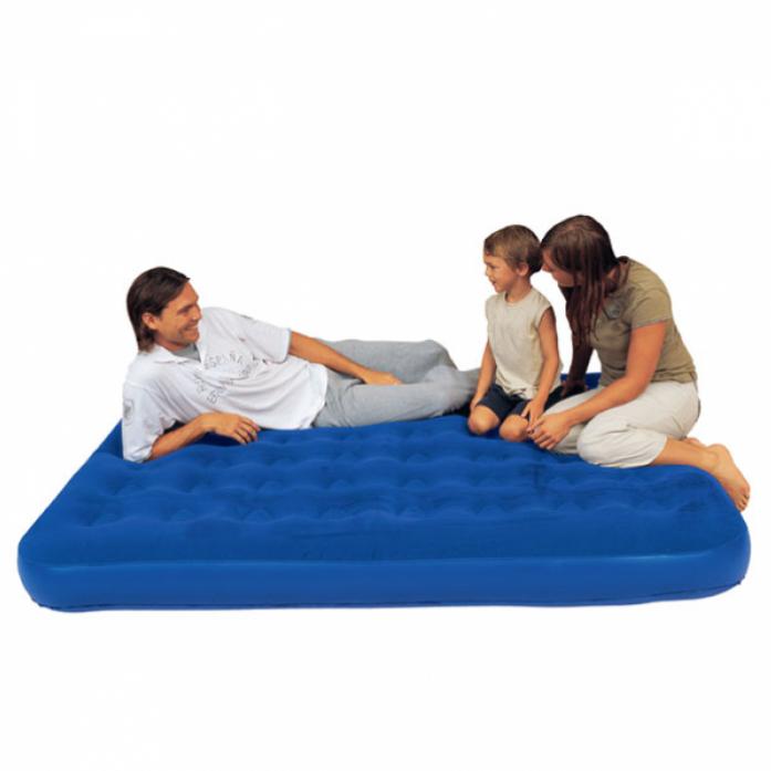 Кровать надувная BestWay Flocked Air Bed King 67004