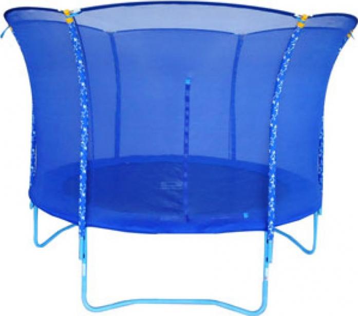 Батут Kogee Tramp Blue Smile Tramp - 3,0 м с защитной сеткой синий