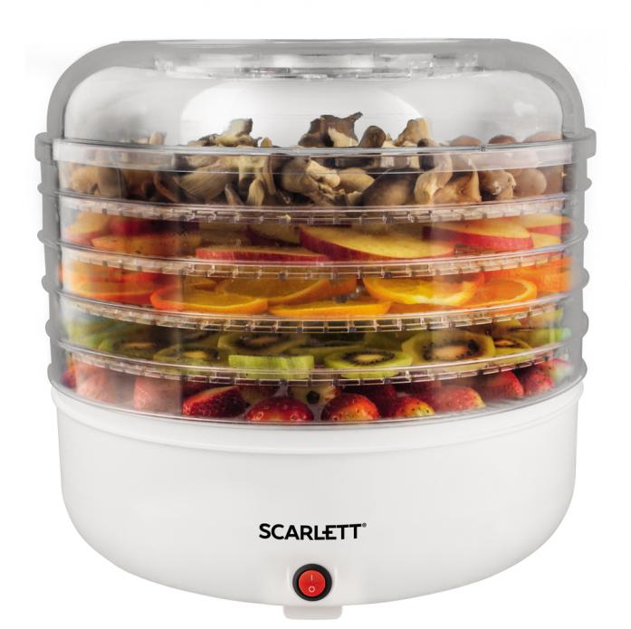 Сушилка для овощей Scarlett SC-FD421005 белый