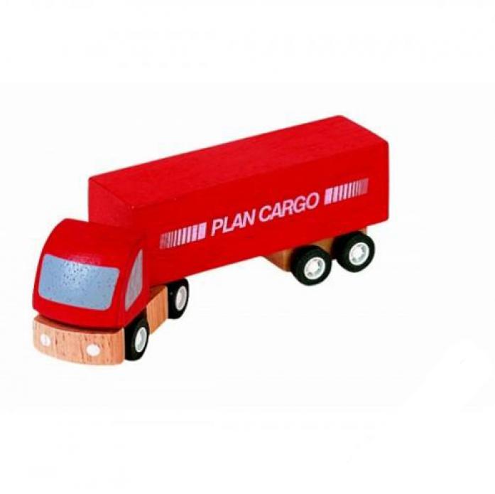 Деревянная игрушка PLAN TOYS Грузовик Карго 6006
