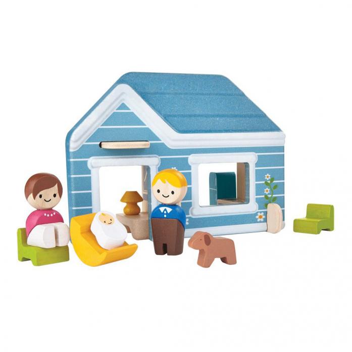 Деревянная игрушка PLAN TOYS Домик 6617