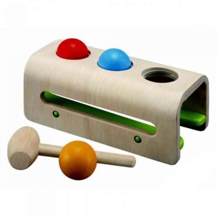 Деревянная игрушка PLAN TOYS Забивалка с шарами 5348