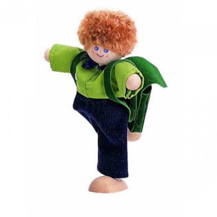 Кукла деревянная PLAN TOYS Мальчик 7404