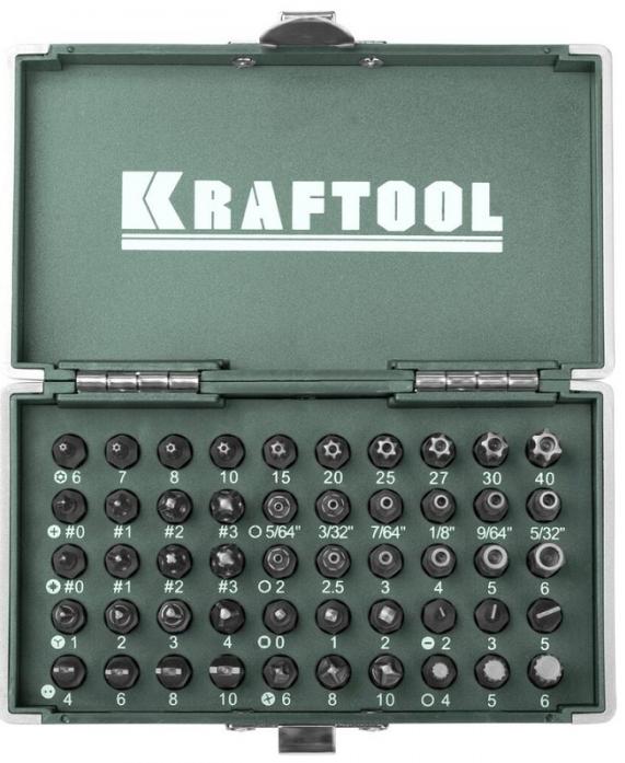 Набор бит Kraftool X-Drive 26065-H50
