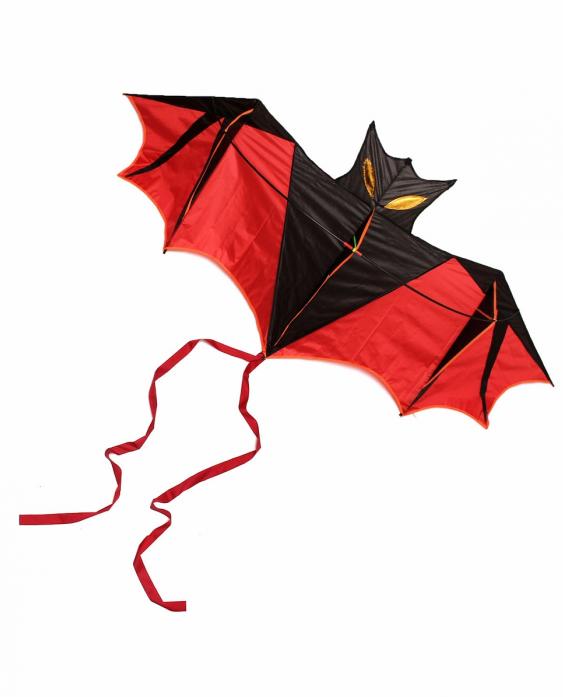 Воздушный змей Bradex ЛЕТУЧАЯ МЫШЬ DE 0283 красный
