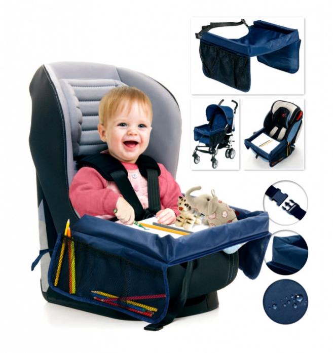 Столик дорожный для детского автокресла Bradex ВЕСЕЛОЕ ПУТЕШЕСТВИЕ DE 0117