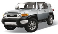 Автомобиль Welly Toyota FJ Cruiser 43639