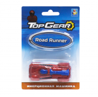 Машинка 1toy Top Gear  Road Runner 8см Т10327