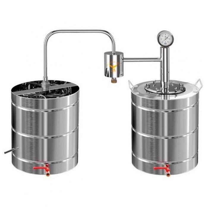 Дистиллятор самогонный аппарат добрый жар дачный с сухопарником 12 литров бизнес план для мини пивоварни