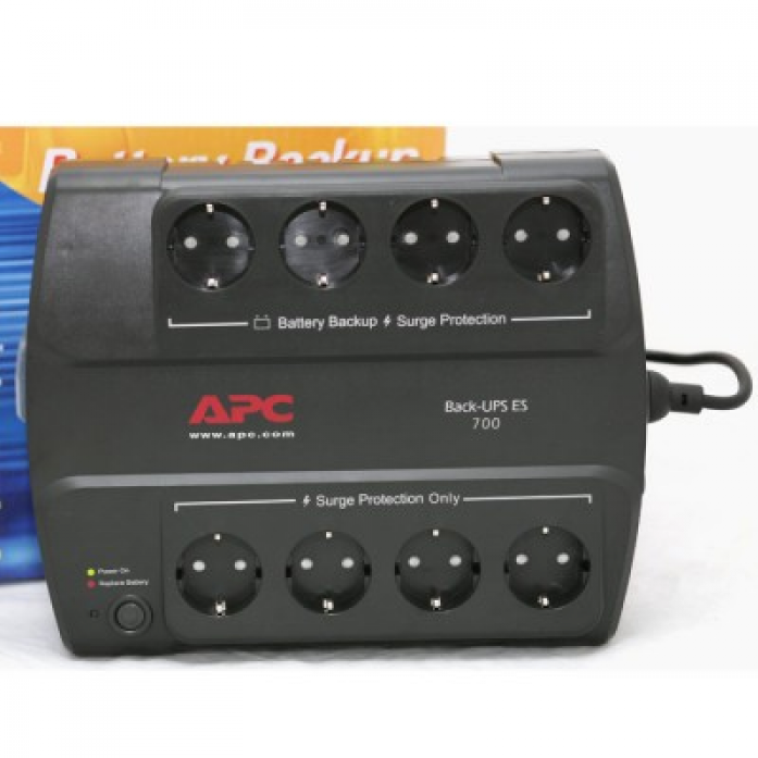 ИБП APC BE700G-RS Back-UPS ES 700VA